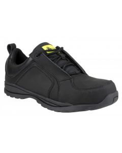 Amblers Black S1P Safety Trainers FS59C