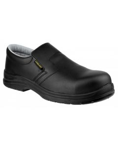 Amblers Black S2 Non Metal Safety Shoe FS661