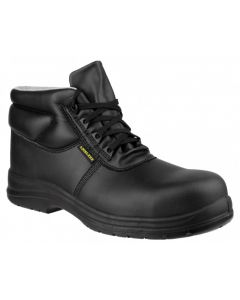 Amblers Black ESD Non Metallic Safety Boots FS663