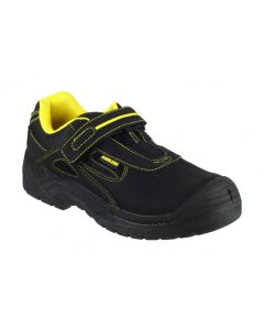 Amblers Black S1P Safety Trainers FS77