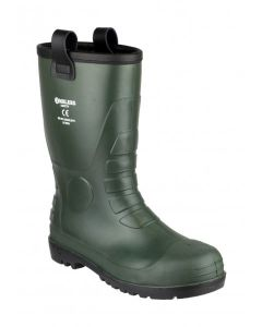 Amblers Green S5 PVC Rigger Safety Boots FS97
