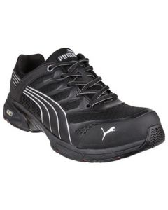 PUMA BLACK FUSE MOTION S1P SAFETY TRAINERS