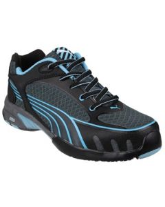 PUMA BLUE FUSE MOTION WOMENS S1 SAFETY TRAINERS