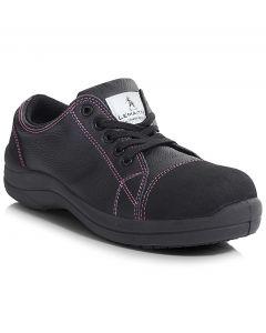 PB203-BLK Libertine Low Trainer - Black Ladies Shoe