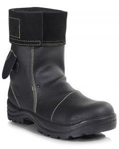 SIZE 11 ONLY - PB25-BLK Mid Length Foundry Boot