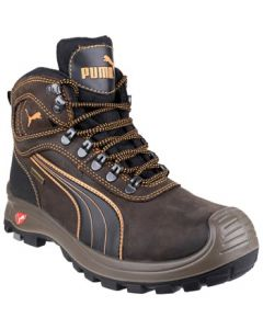 PUMA BROWN SIERRA NEVADA S3 SAFETY BOOTS