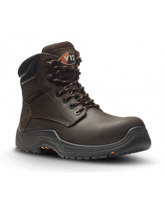 VR601.01 BISON V12 BROWN METAL FREE S3 SAFETY BOOT IGS