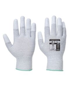 Portwest Antistatic PU Fingertip Glove - A198