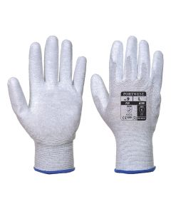 Antistatic PU Palm Glove - A199GRRL