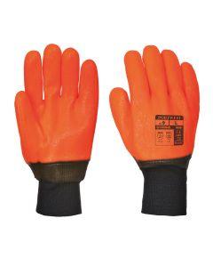 Portwest Weatherproof Hi - Vis Glove - A450