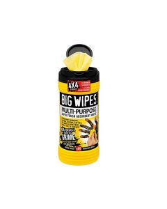 BIG WIPES 4x4 MULTI-PURPOSE BLACK TOP TUB OF 80 - BGW2410