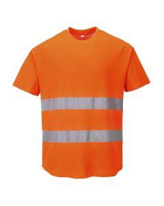 Mesh T-shirt - C394ORRL