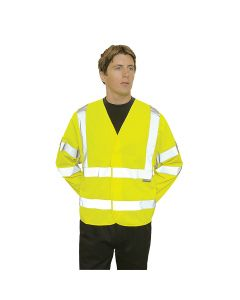 Portwest Hi-Vis Two Band & Brace Jacket - C473