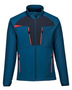 PORTWEST DX4 ZIP BASE LAYER TOP - DX480-METRO BLUE-SMALL