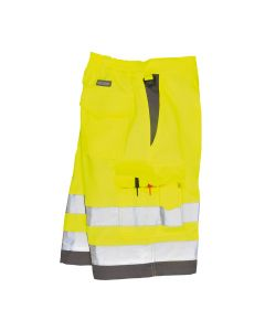 Portwest Hi-Vis Poly-cotton Shorts - E043