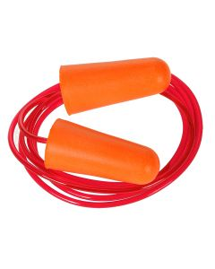 Portwest Corded PU Foam Ear Plug (200 pairs) - EP08