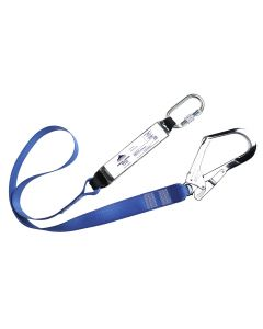 Portwest Webbing Lanyard With Shock Absorber - FP50