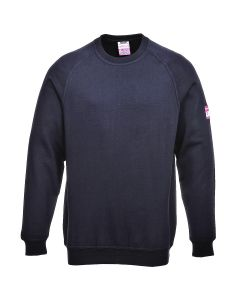 Portwest Flame Resistant Anti-Static Long Sleeve Sweatshirt - FR12