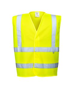 Portwest Hi-Vis Anti Static Vest - Flame Resistant - FR71