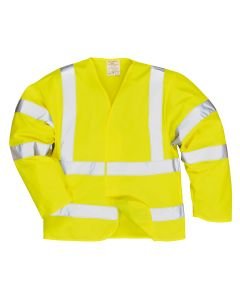 Portwest Hi-Vis Anti Static Jacket - Flame Resistant - FR85