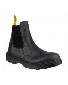 Amblers Black S3 Dealer Safety Boots FS129