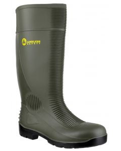 Amblers Green S5 Unisex Steel Toe Cap Wellies FS99