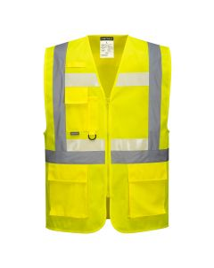 Portwest Glowtex Ezee Zip Executive Vest - G456