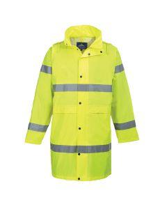 Portwest Hi-Vis Coat 100cm - H442