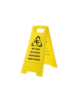 Portwest Euro Wet Floor Warning Sign - HV21
