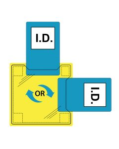 Portwest Dual ID Holder - Sew-On - ID20