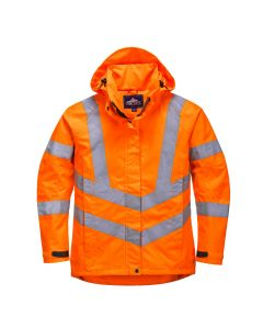 Ladies Hi-Vis Breathable Jacket - LW70ORRL