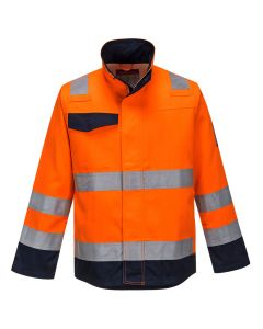 Portwest Modaflame RIS Orange/Navy Jacket - MV35