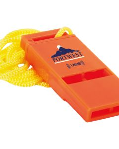Portwest Slimline 120dB Safety Whistle - PA99