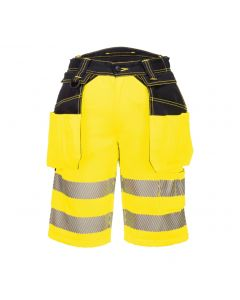 PORTWEST PW3 HI-VIS SHORTS - PW343