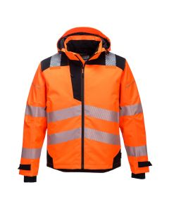 Portwest PW3 Extreme Breathable Rain Jacket - PW360-ORANGE-SMALL