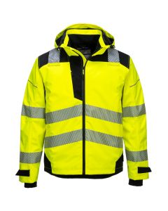 Portwest PW3 Extreme Breathable Rain Jacket - PW360-YELLOW-SMALL