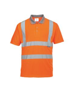 Portwest Hi-Vis Short Sleeved Polo RIS - RT22