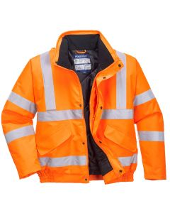 Portwest Hi-Vis Bomber Jacket RIS - RT32
