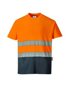 Two Tone Cotton Comfort T-shirt - S173ONRL