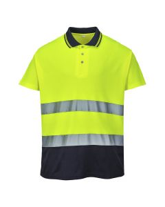Portwest Two Tone Cotton Comfort Polo - S174