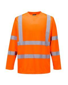 Hi-Vis Long Sleeved T-Shirt - S178ORRL