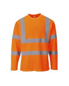 Hi-Vis Long Sleeved T-shirt - S278ORRL