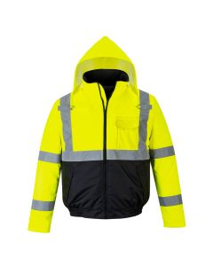 Hi-Vis Two-Tone Bomber Jacket - S363YBR4XL