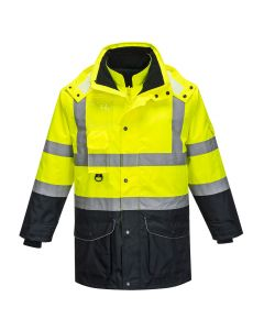Hi-Vis 7-in-1 Contrast Traffic Jacket - S426YNR4XL