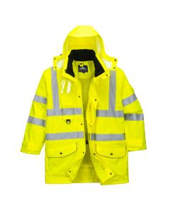 Portwest Hi-Vis 7-in-1 Traffic Jacket - S427