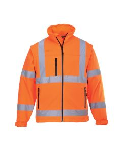 Hi-Vis Softshell Jacket  - S428ORR4XL