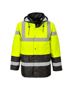 Hi-Vis Contrast Traffic Jacket - S466YBRL