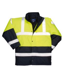 Portwest Hi-Vis Contrast Traffic Jacket - S466