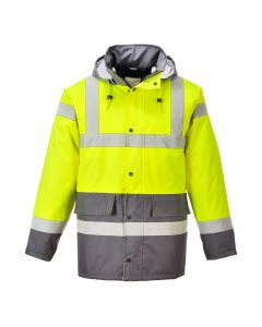 Hi-Vis Contrast Traffic Jacket - S466YGYL