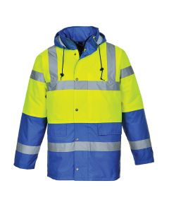 Hi-Vis Contrast Traffic Jacket - S466YRBL